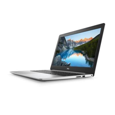 "Dell Inspiron 5570 15.6"" FHD, Intel Core i5-8250U (3.40 GHz), 4GB, 1TB, AMD Radeon 530 2GB, Win 10, ezüst"