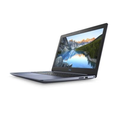 "Dell G3 3579 15.6"" FHD,Intel Core i5-8300H (4.0 GHz), 8GB,128GB SSD+1TB HDD,Nvidia GTX 1050 4GB, Linux, kék"