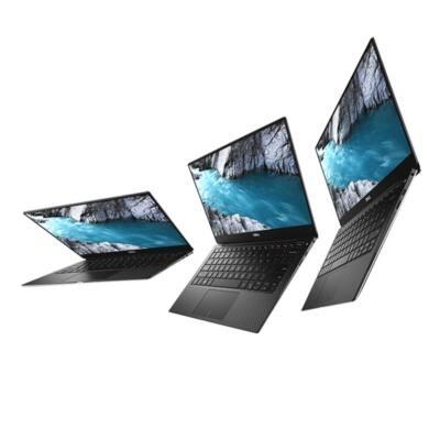 """Dell Xps 13 13,3"""" FHD, Intel Core i7-8550U (4.0 GHz), 8GB, 256GB, Intel HD 620, Win.10 Pro (9370) Hun Backlit Silver"""